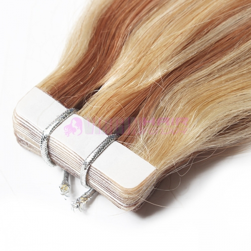 Human Hair Skin Weft 18-24 inch Remy Tape Hair Extension