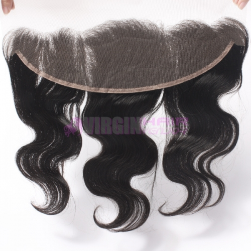 Super grade frontal 13*4 100% virgin hair closure way hair