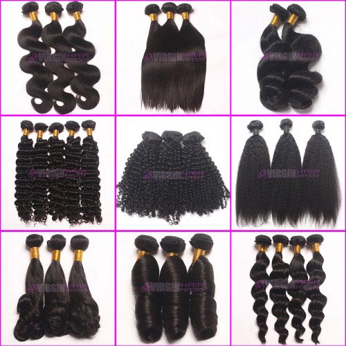 Super grade 8-30inch 100% virgin hair in stock factory supplier